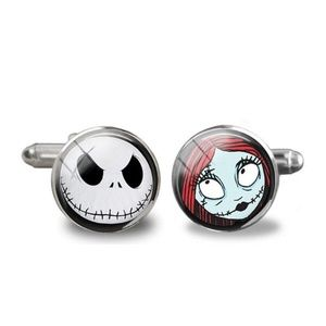 Other - Nightmare Before Christmas Cuff links Jack & Sally